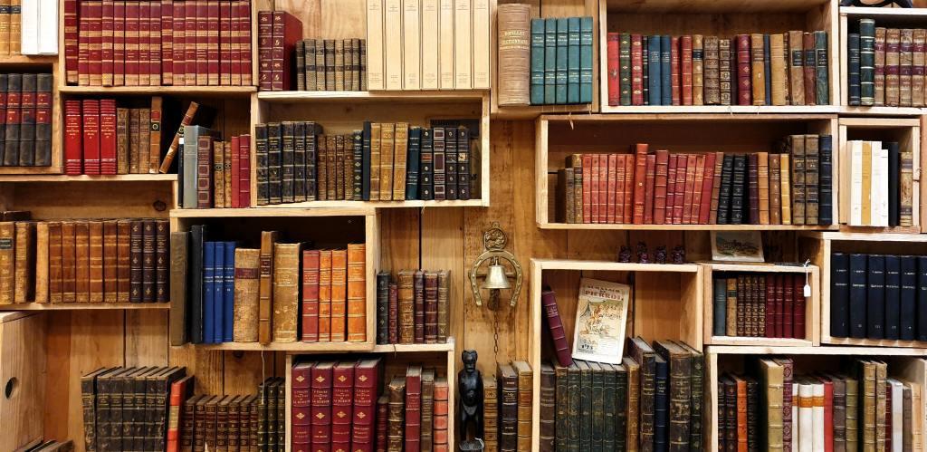bookshelf -- fancy comma blog