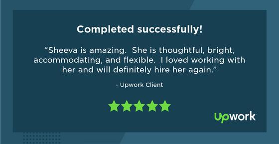 client testimonial